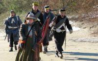 1861 Gold Rush Pack Trail Get Friendly Send Off At Klahowya Village