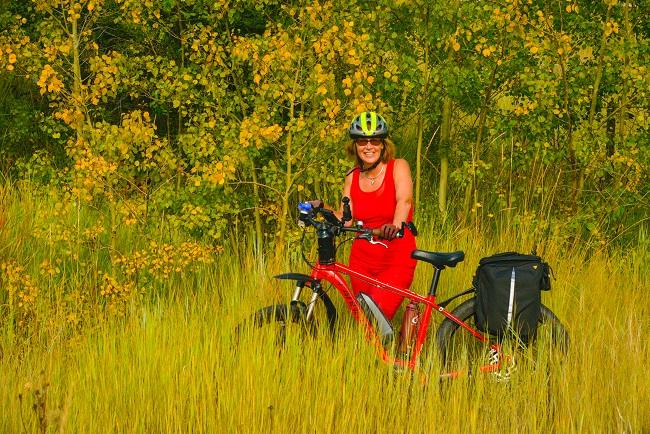 Amy Newman On Bike Fb