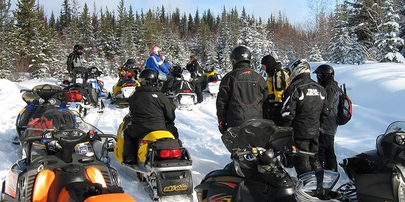 Gold Rush Snowmobile Trail