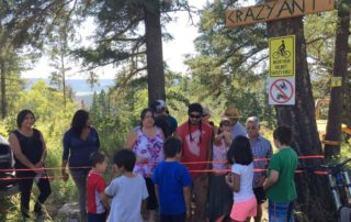 Soda Creek Crazy Ant Trail Opening
