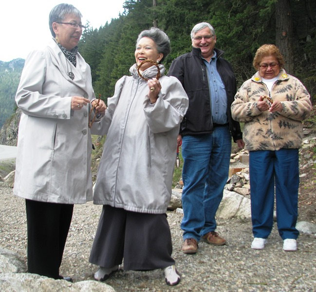 Senators' Tour at the Tikwalus Trail Grand Opening
