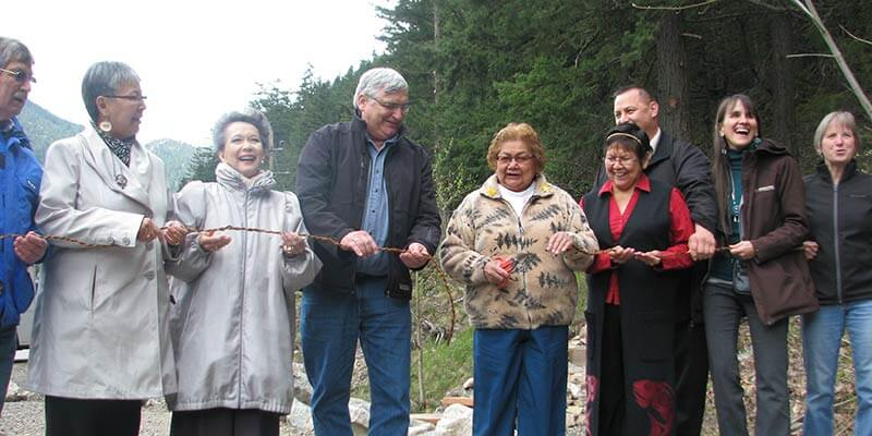 Tikwalus Trail Ribbon Cutting