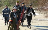 1861 Gold Rush Pack Trail Get Friendly Send Off At Klahowya Village