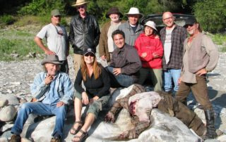 August 31, 2008: Filming started on Canyon War: The Untold Story