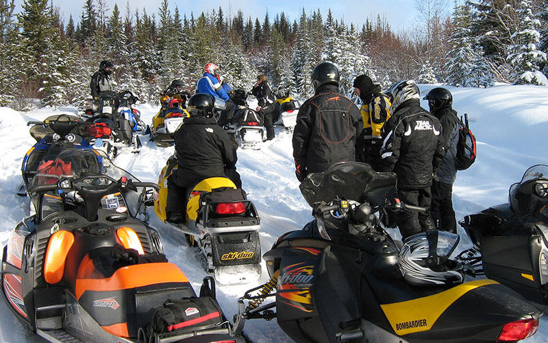 Gold Rush Snowmobile Trail Preview