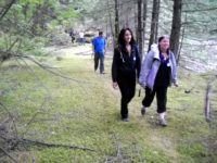 Hikers On The Waggon Road 3FB