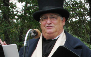 Terry Raymond at the Cariboo Waggon Road 150 Celebrations in Yale, 2013